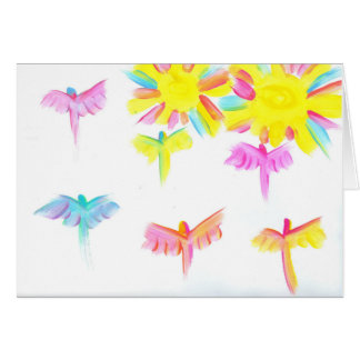 Candy Waters Autism Artist Stationery Note Card