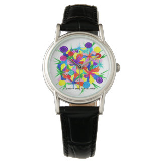 Candy Waters Autism Artist Watches
