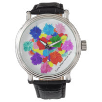 Candy Waters Autism Artist Wristwatches