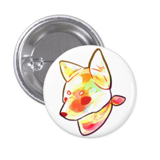 Candy workmanship 柴 dog button