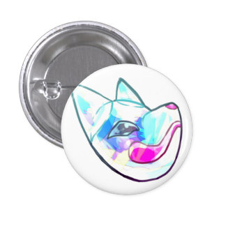 Candy workmanship fox surface pinback button