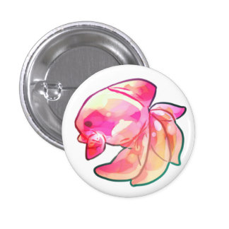 Candy workmanship goldfish pinback button