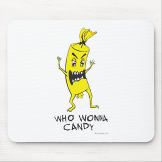 CANDY YELLOW MOUSE PAD