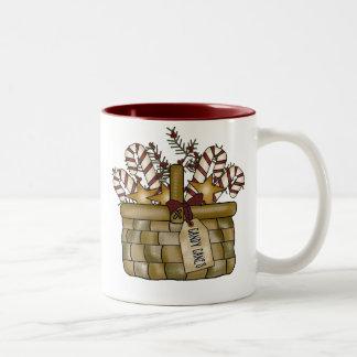 Candycane de la taza del navidad