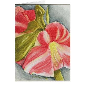 Candycane Petals Card