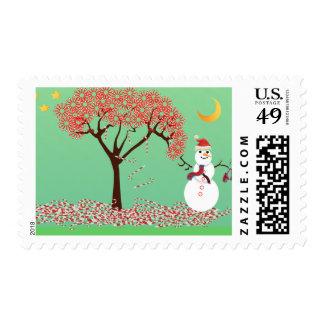Candycane Tree - Stamp
