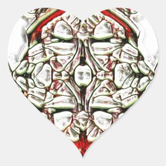 CandyCoded Pegatina En Forma De Corazón