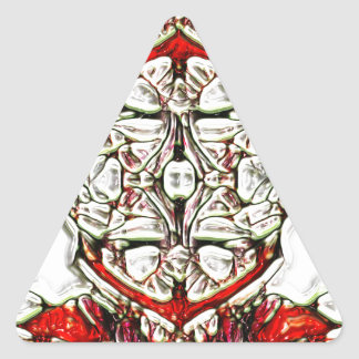 CandyCoded Pegatina Triangular