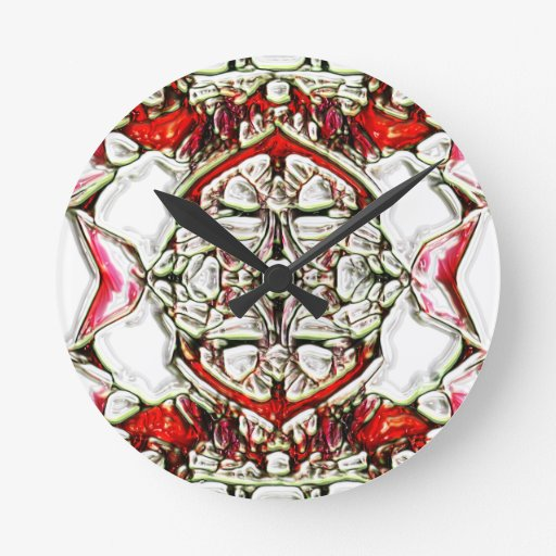 CandyCoded Round Wallclock