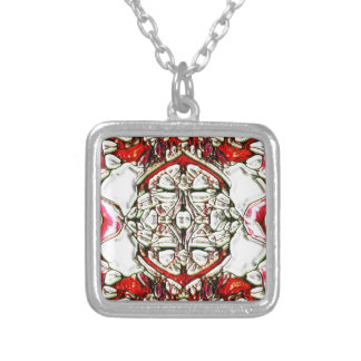 CandyCoded Silver Plated Necklace