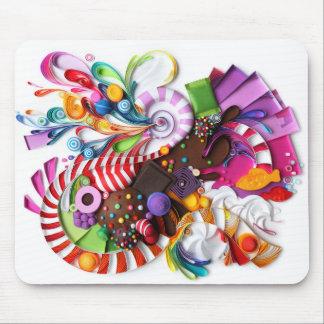 CandyCrush inspiró el mousepad Alfombrillas De Raton