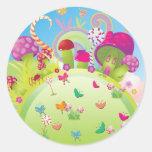 Candyland 1 (plantilla) pegatinas