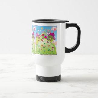 Candyland 1 (plantilla) taza de viaje