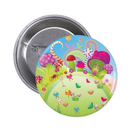 Candyland 2 Inch Round Button