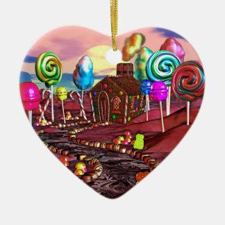 Candyland Ceramic Ornament