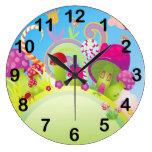 Candyland Clock