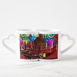 Candyland Coffee Mug Set