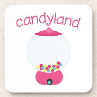 Candyland Beverage Coasters