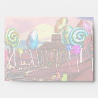 Candyland Envelopes