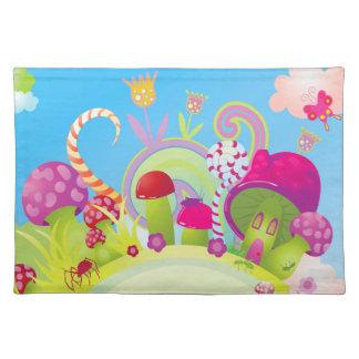 Candyland Fantasy Landscape Placemat