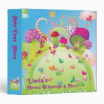 Candyland - For Notes, Clippings & More Vinyl Binders