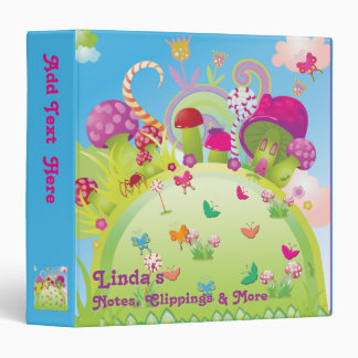 Candyland - For Notes, Clippings & More Binder