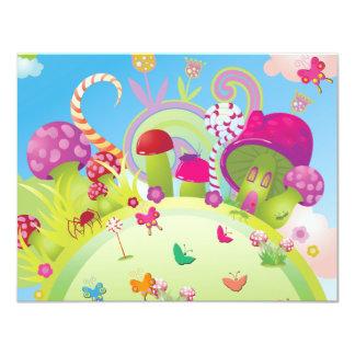 "Candyland Invitation 4.25"" X 5.5"" Invitation Card"