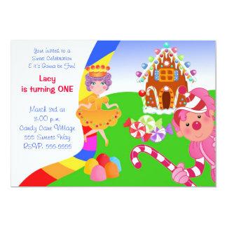 Candyland Invite