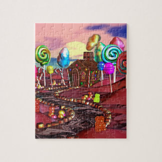 Candyland Jigsaw Puzzle