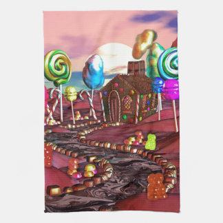 Candyland Hand Towels
