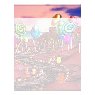 Candyland Plantillas De Membrete