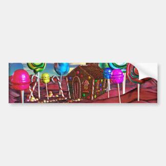 Candyland Pegatina Para Auto