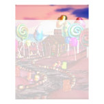 Candyland Personalized Letterhead