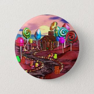 Candyland Pinback Button