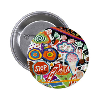 Candyland Pinback Button
