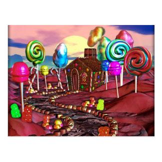 Candyland Postcard