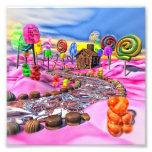 Candyland rosado foto
