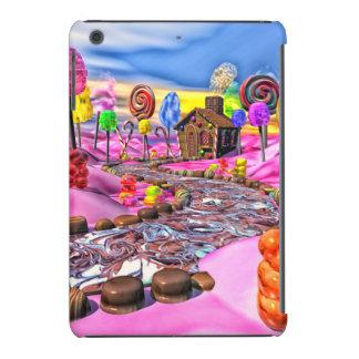 Candyland rosado fundas de iPad mini