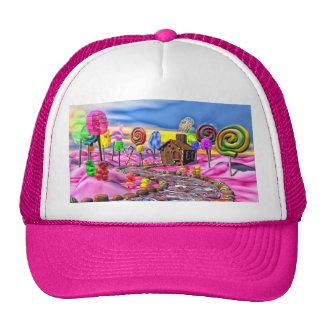 Candyland rosado gorros