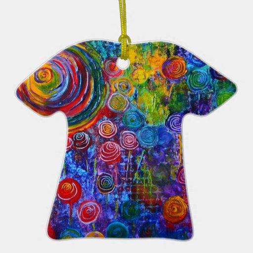 Candyland T-shirt Ornament