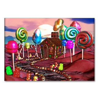Candyland Table Cards