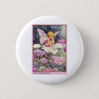 Candytuft Fairy Button