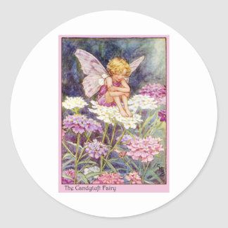 Candytuft Fairy Classic Round Sticker