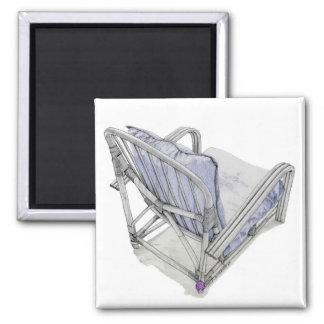 Cane Chair Magnet