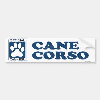 Cane Corso Blue Bumper Sticker