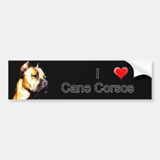 Cane Corso bumper sticker Car Bumper Sticker