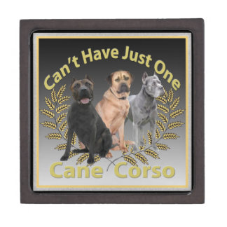 Cane Corso Can't Have Just One Keepsake Box