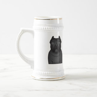 Cane Corso Cartoon 18 Oz Beer Stein