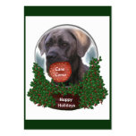 Cane Corso Christmas Gifts Business Card Templates