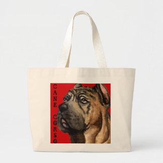 Cane Corso Color Block Jumbo Tote Bag